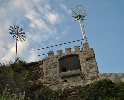 Ruine Hinterhaus Miniatur